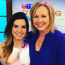 Registered Dietitian, Emily Mardell and CTV Edmonton Morning Live Anchor, Stacey Brotzel